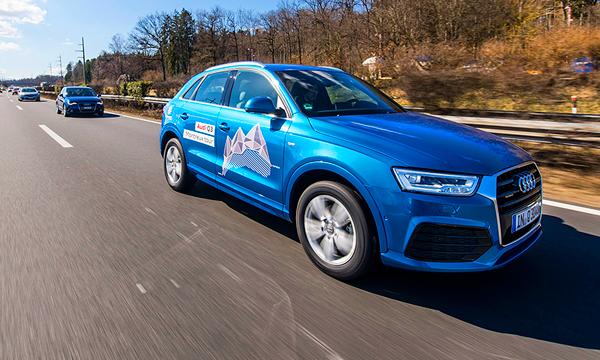 На двух цилиндрах. Тест-драйв Audi Q3