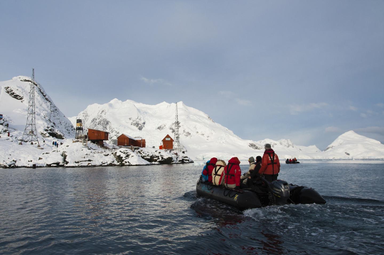 Экспедиция в Антарктике