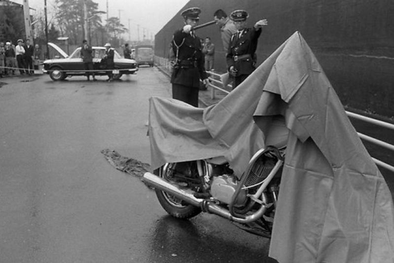 Мотоцикл грабителя