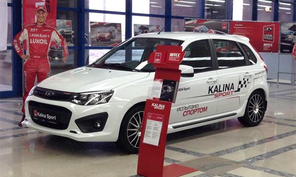 Объявлен старт продаж Lada Kalina Sport