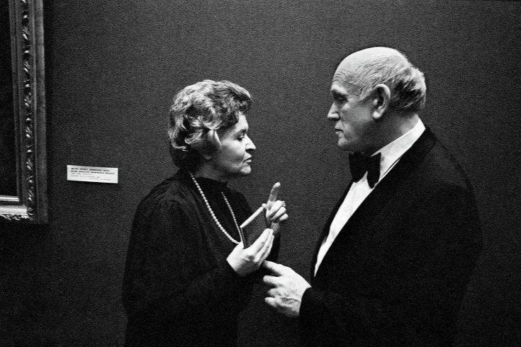 Ирина Антонова и Святослав Рихтер,1985