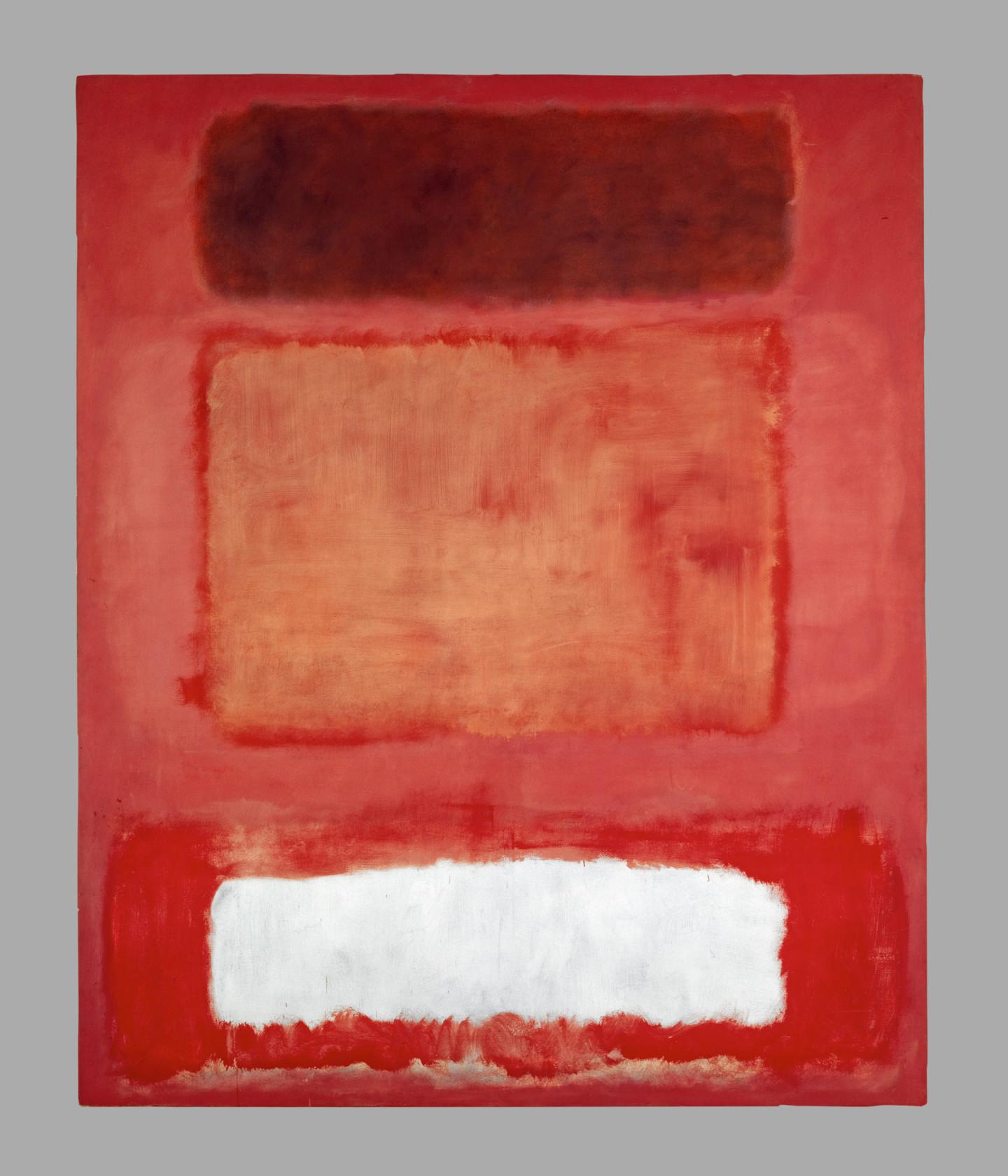Марко Ротко. No. 16 (Красный, белый и коричневый), 1957