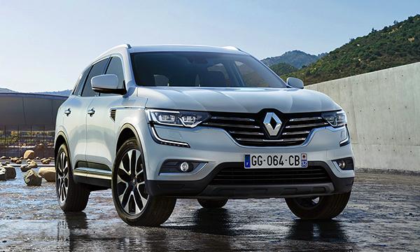 Дизайн кроссовера нового поколения Renault Koleos рассекретили до премьеры