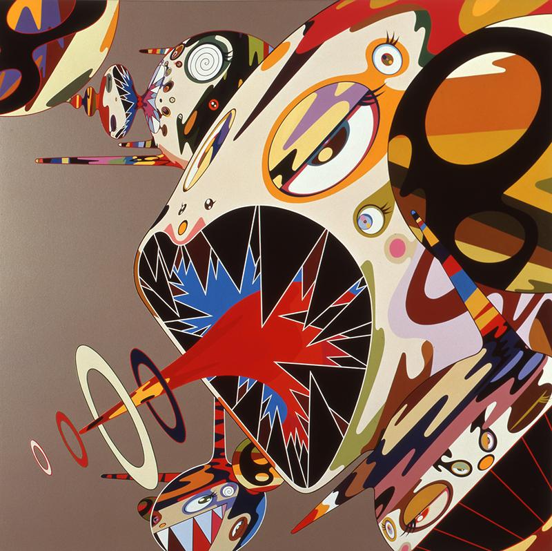 Такаси Мураками. Оммаж Фрэнсису Бэкону (Этюд к портрету Изабель Росторн), 2002