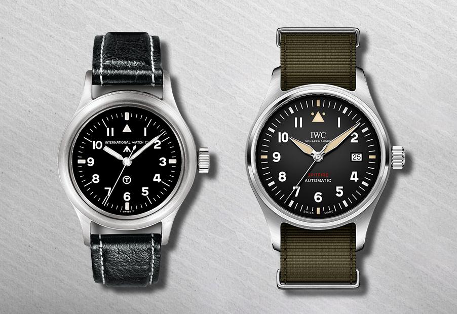 Часы Mark 11 Royal Air Force 1952 года; Automatic Spitfire