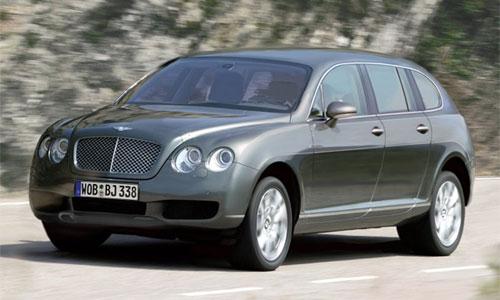 В модельном ряду Bentley появится внедорожник