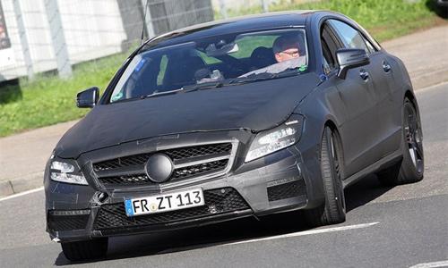 Первые фото Mercedes-Benz CLS63 AMG