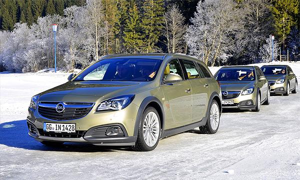 Полному приводу Opel добавили интеллекта