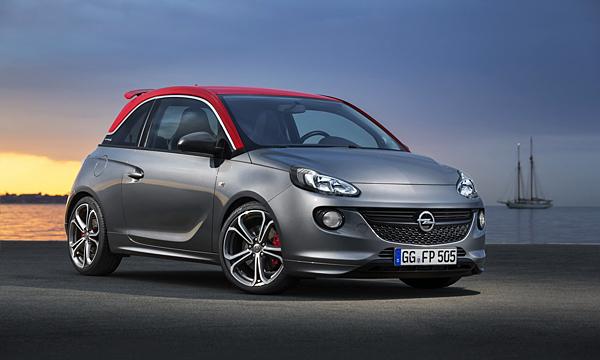 «Заряженный» Opel Adam представят в Париже