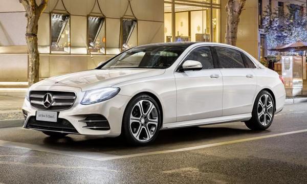 Mercedes-Benz удлинил E-Class для Китая