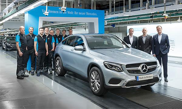 Mercedes-Benz приступил производству GLC Coupe