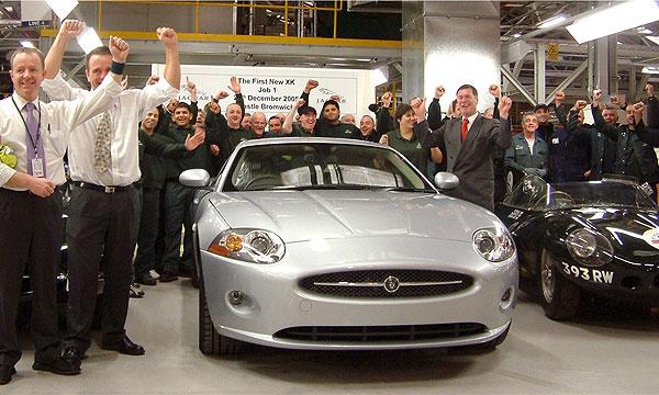 Первый новый Jaguar XK