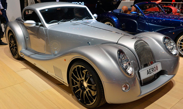 Компания Morgan возродила спорткар Aero 8