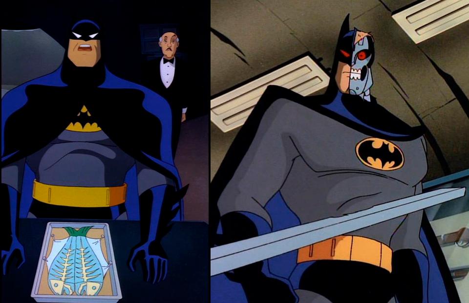 Кадр из анимационного фильма «Бэтмен»