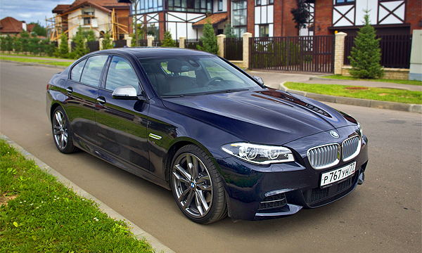 То, что внутри. Тест-драйв BMW 5-Series