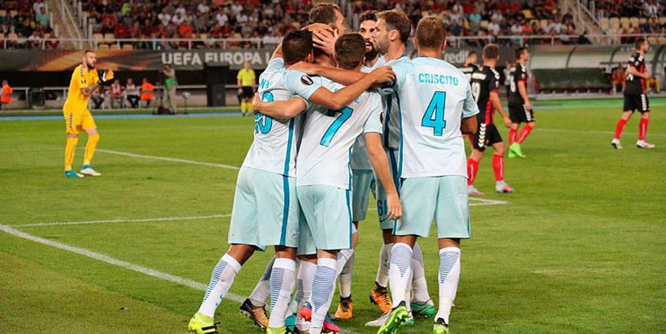 компания Строй футбол чемпионат лига европы голы смотреть зенит вардар целую кучу