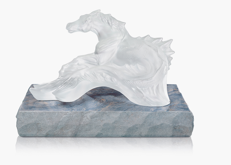 Скульптура «Конь Посейдона». Лимитированный выпуск— 188 экземпляров