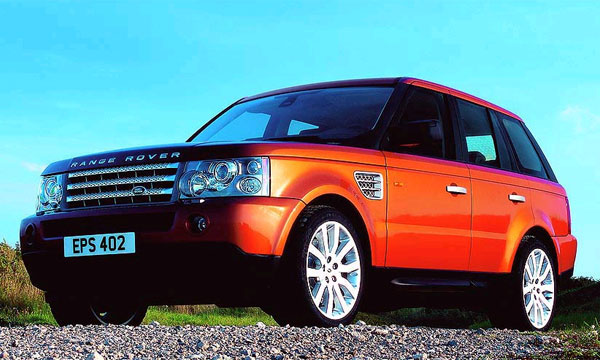 Range Rover Sport в роли добра с кулаками