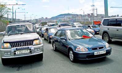 Владивосток продолжает бастовать против пошлин