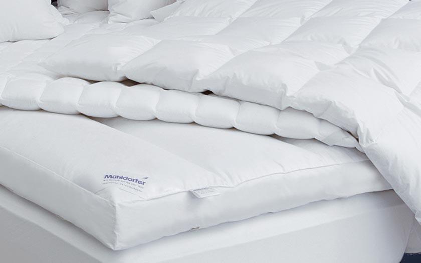 Одеяла немецкого бренда Mühldorfer