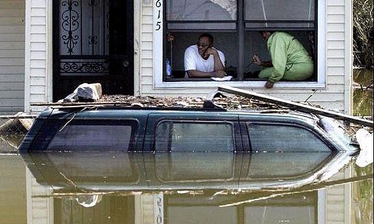 На рынке США появились железные жертвы урагана Катрина