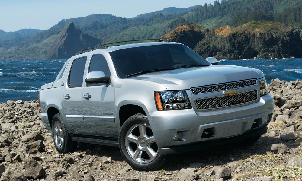 Chevrolet прощается с пикапом Avalanche