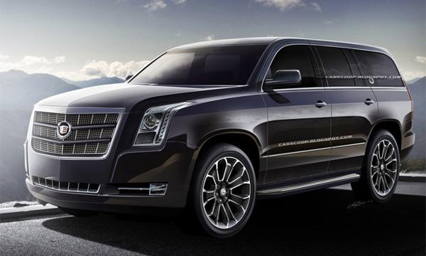 Новый Cadillac Escalade представят весной 2014 года