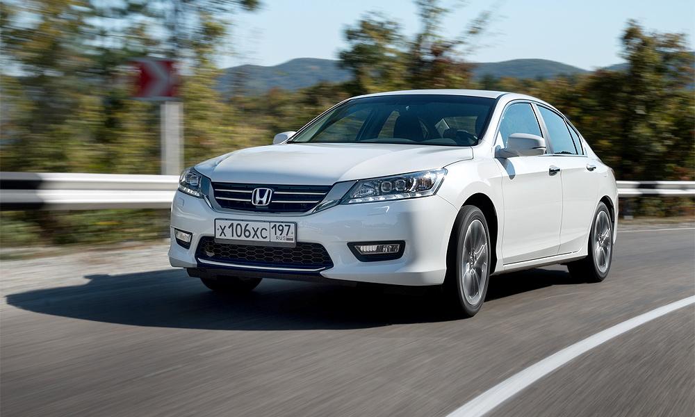 Продажи нового Honda Accord в России начнутся 16 марта