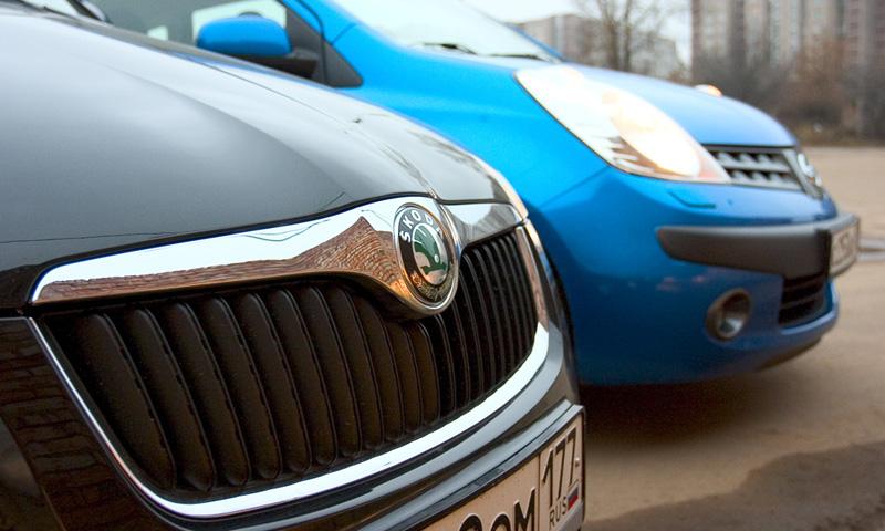 Тест-драйв равных: Nissan Note и Skoda Roomster