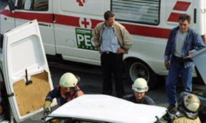 В Красноярске столкнулись автобус и троллейбус, пострадали 6 человек