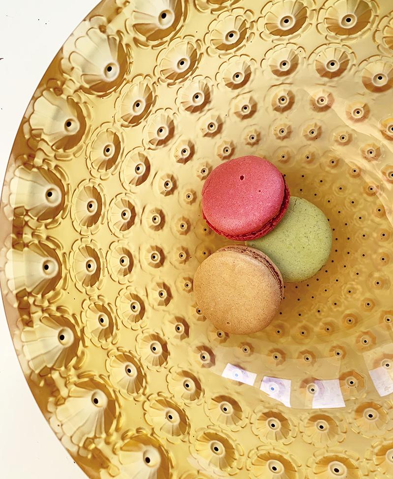 Чаша Nemours, Lalique
