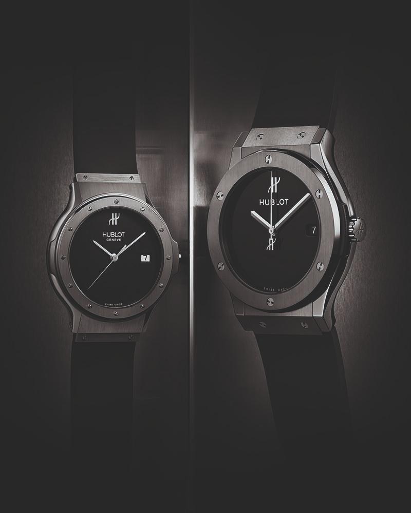 Часы Hublot: Classic Original 1980 и Classic Fusion 40th Anniversary