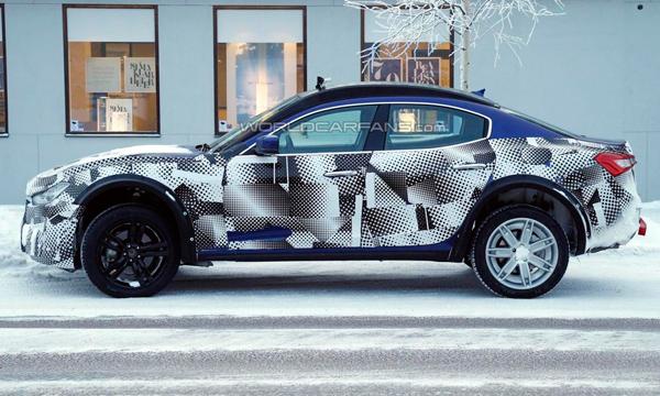 Кроссовер Maserati Levante превратят в гибрид