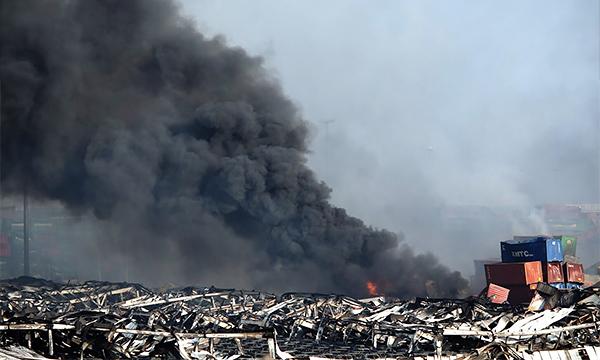 Взрыв в порту Тяньцзинь уничтожил 1500 автомобилей Renault