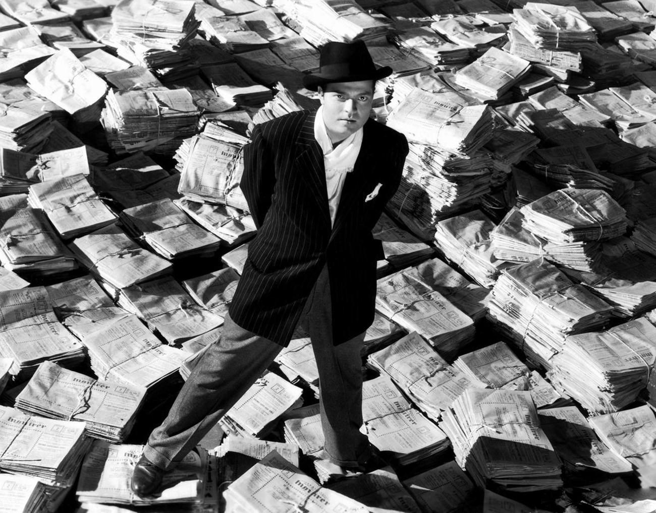 Кадр из фильма «Гражданин Кейн»