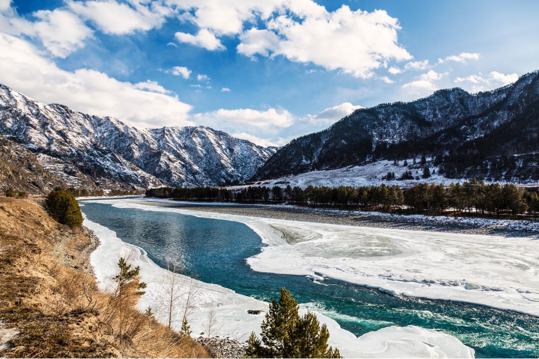 Долина реки Катунь, Алтай