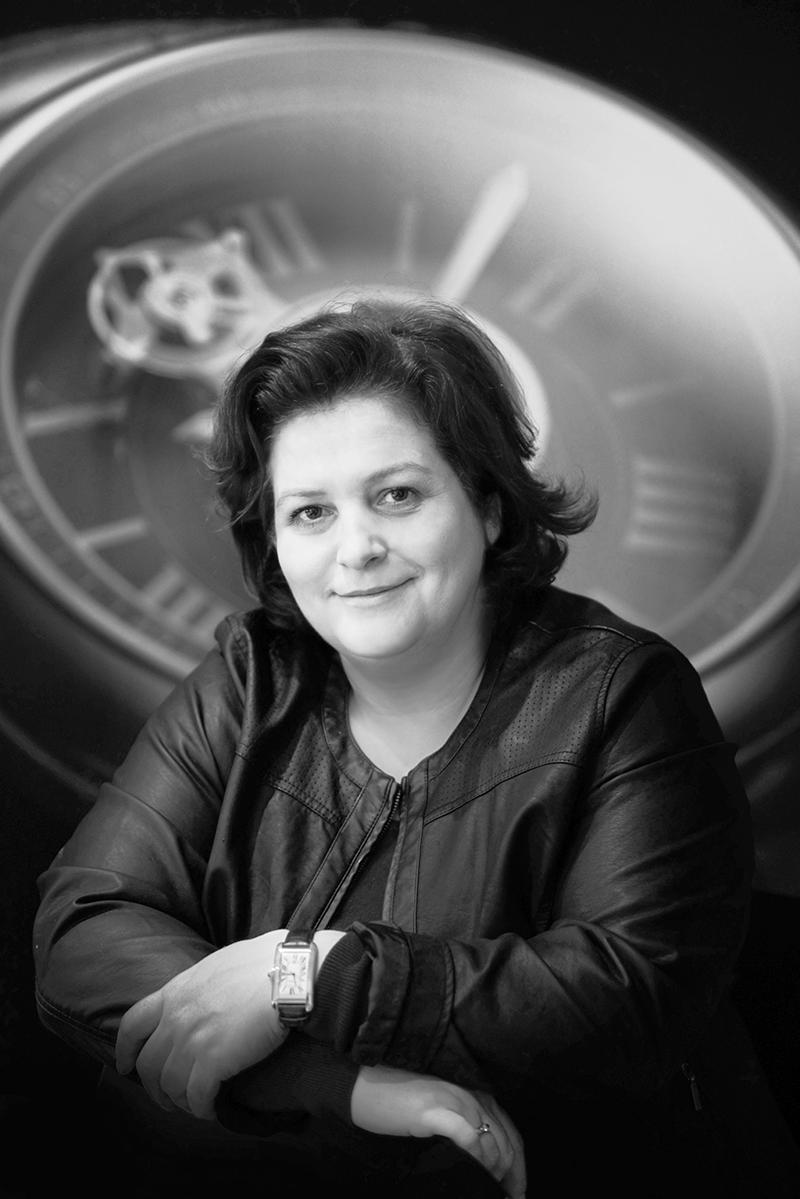 Кароль Форестье-Казапи, глава отдела исследований и разработок Cartier
