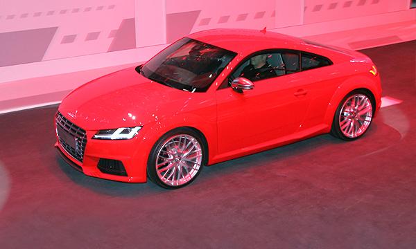 Ночь премьер: Audi TT и неожиданный T-ROC