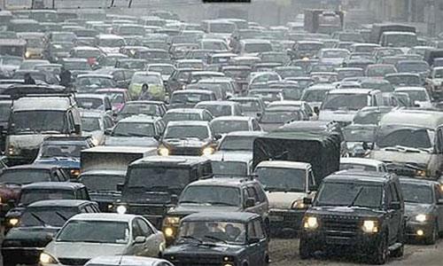 Снежная катастрофа на московских дорогах