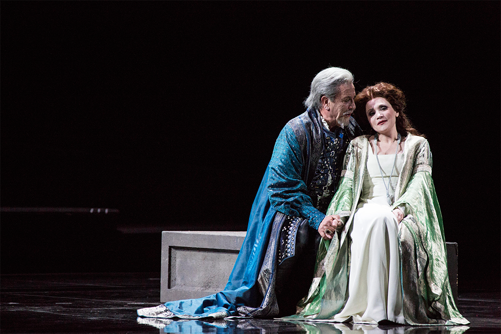 Сцена из оперы «Симон Бокканегруа»