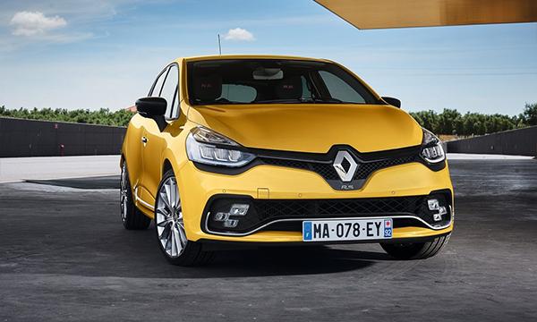 Renault обновил хэтчбек Clio RS