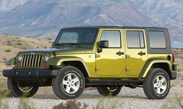 Jeep Wrangler Unlimited - новый образ классики
