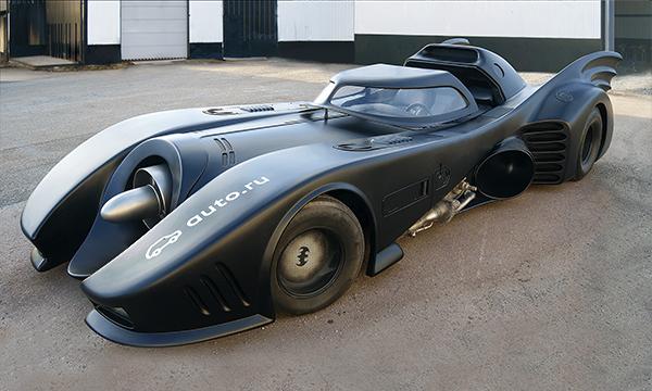 В России выставят на продажу «Бэтмобиль» за миллион евро