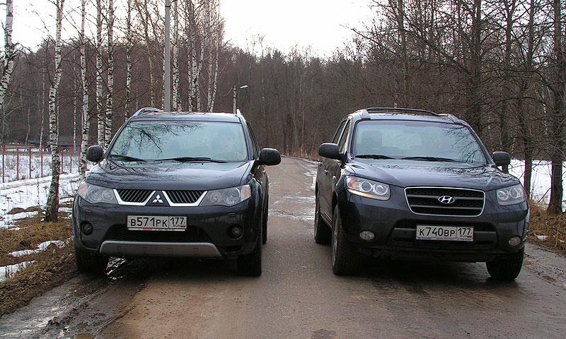Mitsubishi Outlander vs. Hyundai Santa Fe