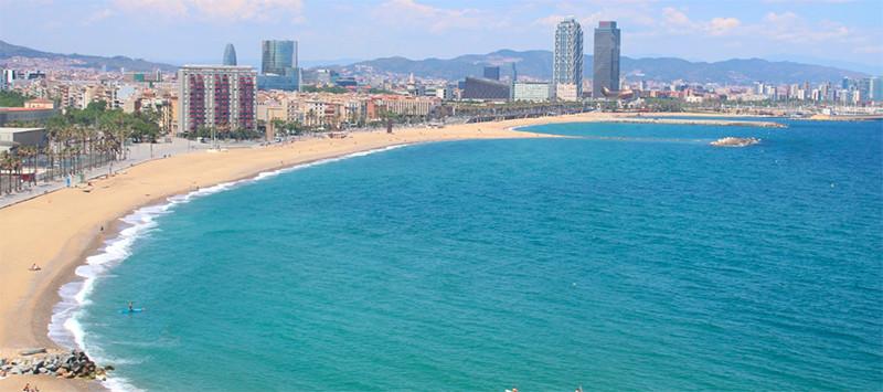 Вид из оконW Barcelona