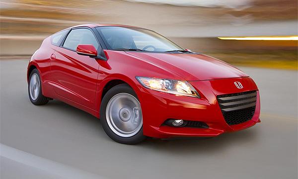 Новая Honda CR-Z поступила в продажу