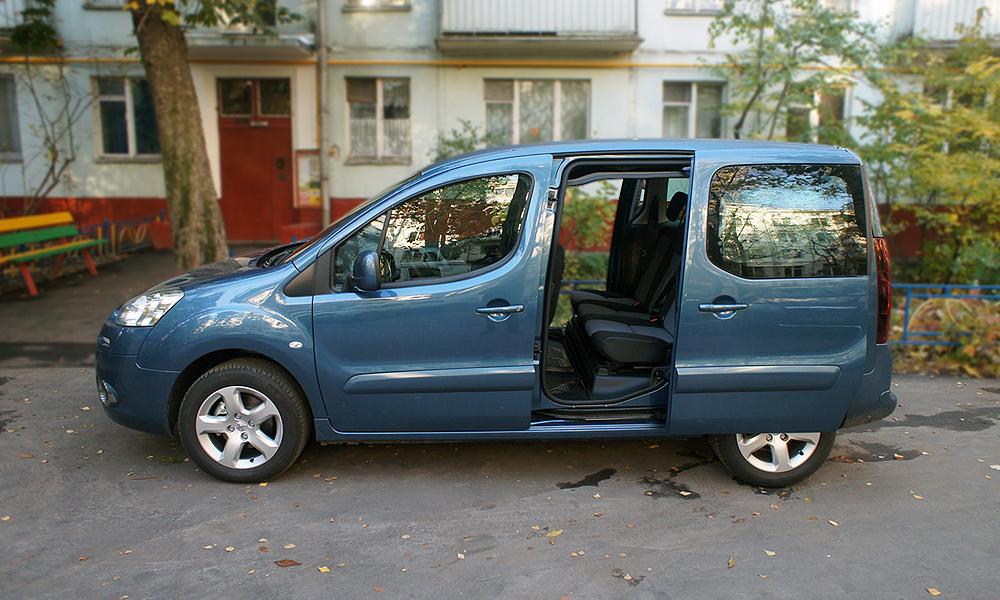 Дешевые кубометры. Тест-драйв Peugeot Partner Tepee