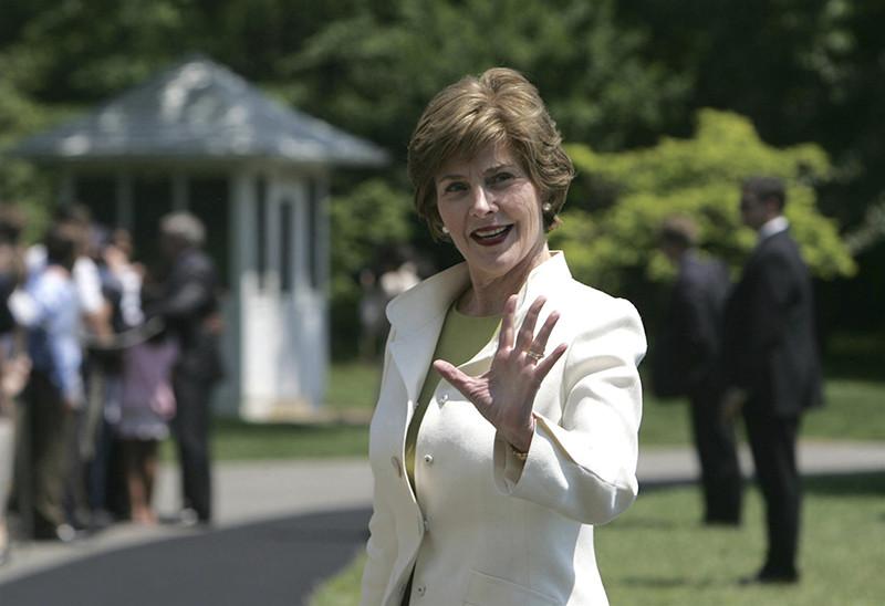 Лора Буш, первая леди США в 2001–2009 годах