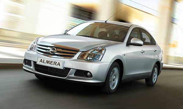 Объявлен старт продаж новой Nissan Almera