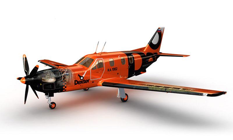 Компания авиатакси Dexter вчера приступила к выполнению регулярных рейсов по России